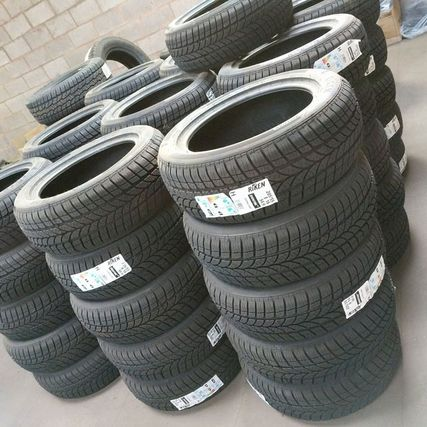different size tyres in county tyres shop