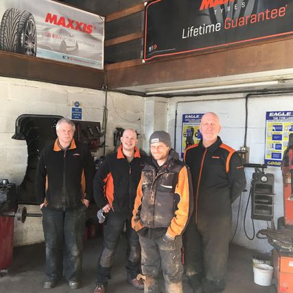 county tyres staff